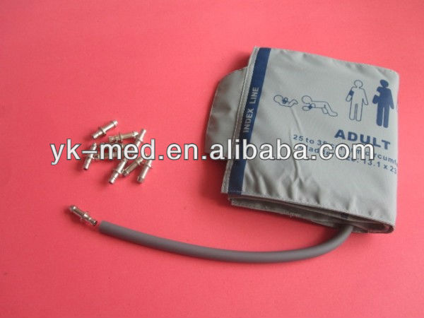 Reusable blood pressure cuff with single hose.For M1574A.Durable TPU material
