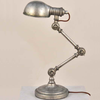 Industrial Unique Articulated Iron Rustic Table Lamp Lighting for Decoration