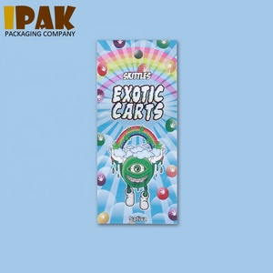 Exotic Carts AC1003 CBD Vape Oil Cartridge Packaging Plastic Bag