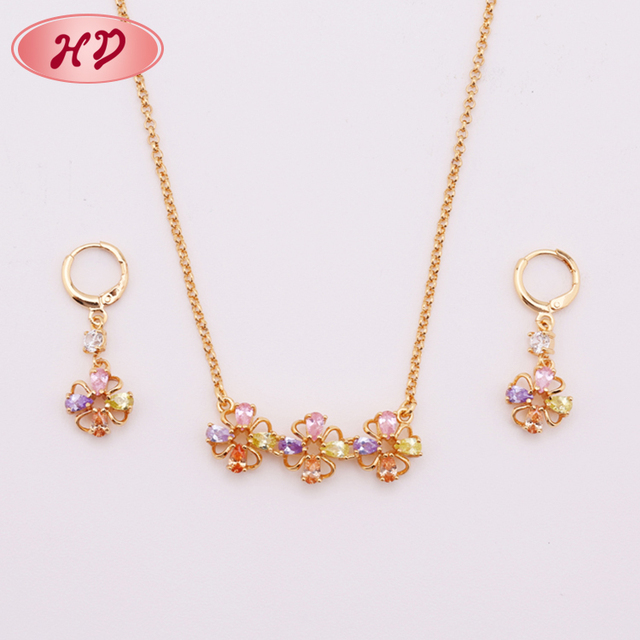 Wedding Wear Design Accessories Handmade Earring And Necklace Set