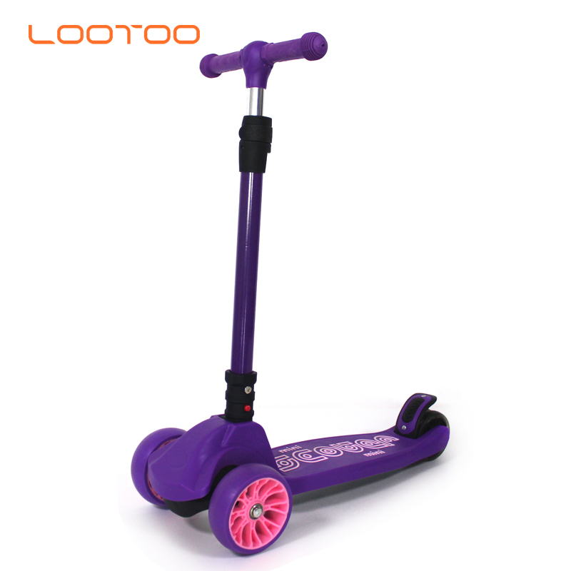 Teenager toy 12 years old kids pedal scooter / big wheel children scooter / baby scooter walker