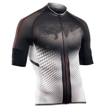 Sublimation Printing Mountain Wear Bicycle Shirt Summer Short Sleeve Cycling Jersey Clothing Team