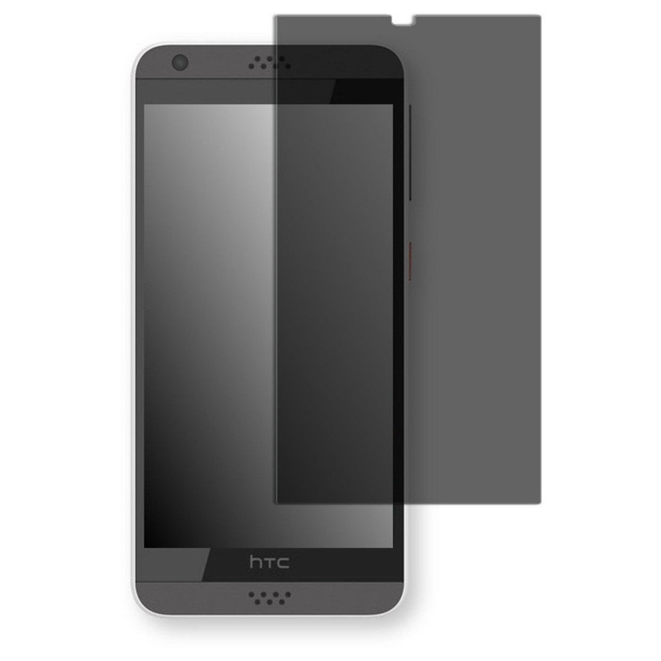 Golebo Screen Film for Privacy protection black for HTC Desire 530 - PREMIUM QUALITY