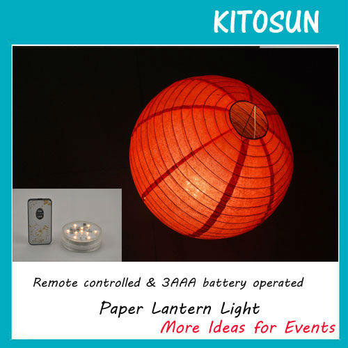 Mid Autumn Paper Lantern With 10 Super Bright White LED Light