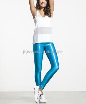 378193891fe71 Sublimation shiny seamless yoga pants,yoga leggings for ladies gym/running