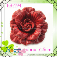 2014 new genuine leather shoes flower, leather ornament,shoes accessories