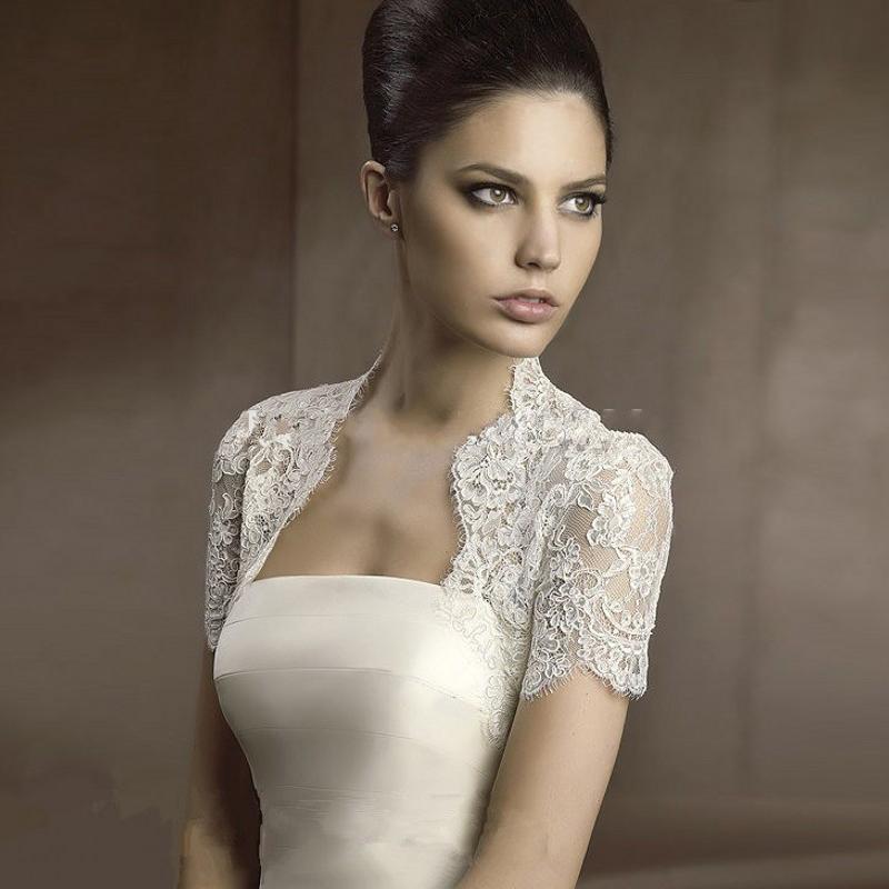 bolero veste de mariage promotion achetez des bolero veste. Black Bedroom Furniture Sets. Home Design Ideas