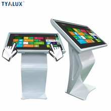 "Advertising player LCD kiosk 49"" touchscreen windows floor standing lcd tv"