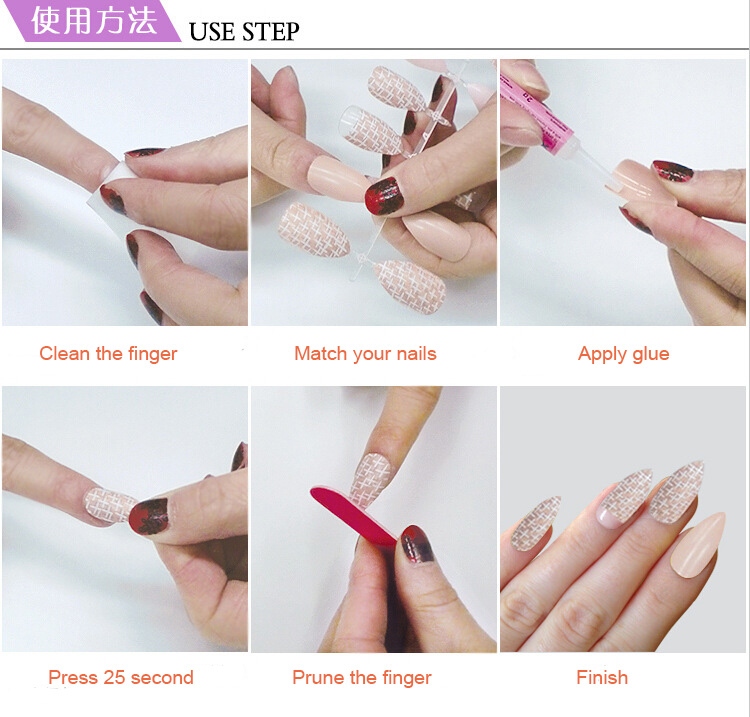 Factory Wholesale Kinds Full Cover Artificial Nail Tip