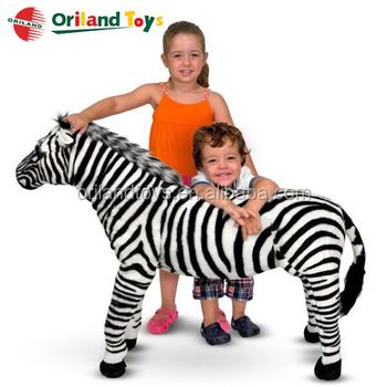 Realistic Lifesize Horse Simulation Custom Stuffed Animals Life Size