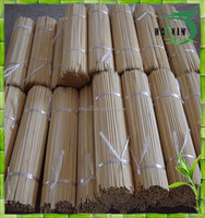 China high quality colored round raw bamboo Incense Sticks India