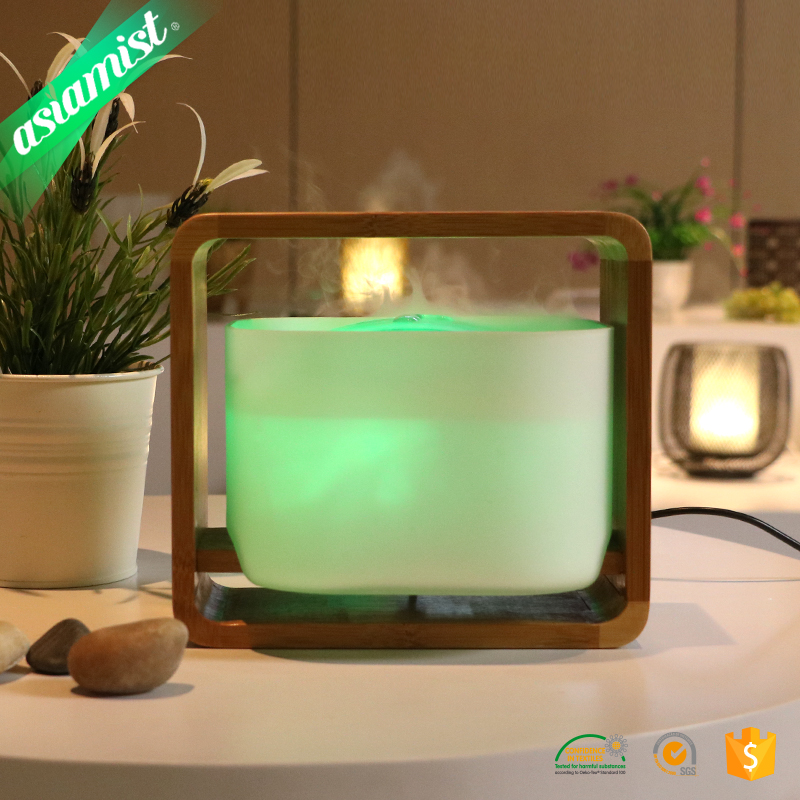 Kegao spa room bamboo ultrasonic essential oil aroma diffuser