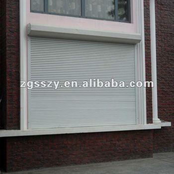 European type roller shutter aluminum external roller for European shutters