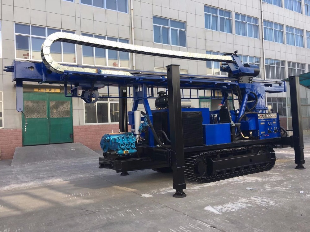hydraulicdeep water well drilling machine SLY650