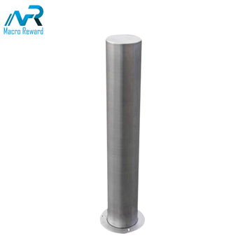 Outdoor high strength ornate galvanized road safety bollard for sale