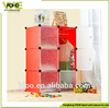 Living room furniture storage cubes cabinet DIY 6 cubes panels cabinets FH-AL0023-6