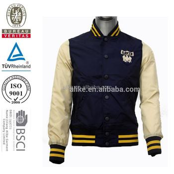 1de73b7d06 New Arrivals Men Nylon Football Jackets Soccer College Jacket - Buy ...
