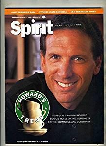 Southwest Airlines SPIRIT Magazine Sept 1995 Starbuck's Howard Schultz Cover