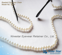 Beaded Pearl Glasses Eyeglass Sunglass Reading Glass Necklace Holder Glasses Chain