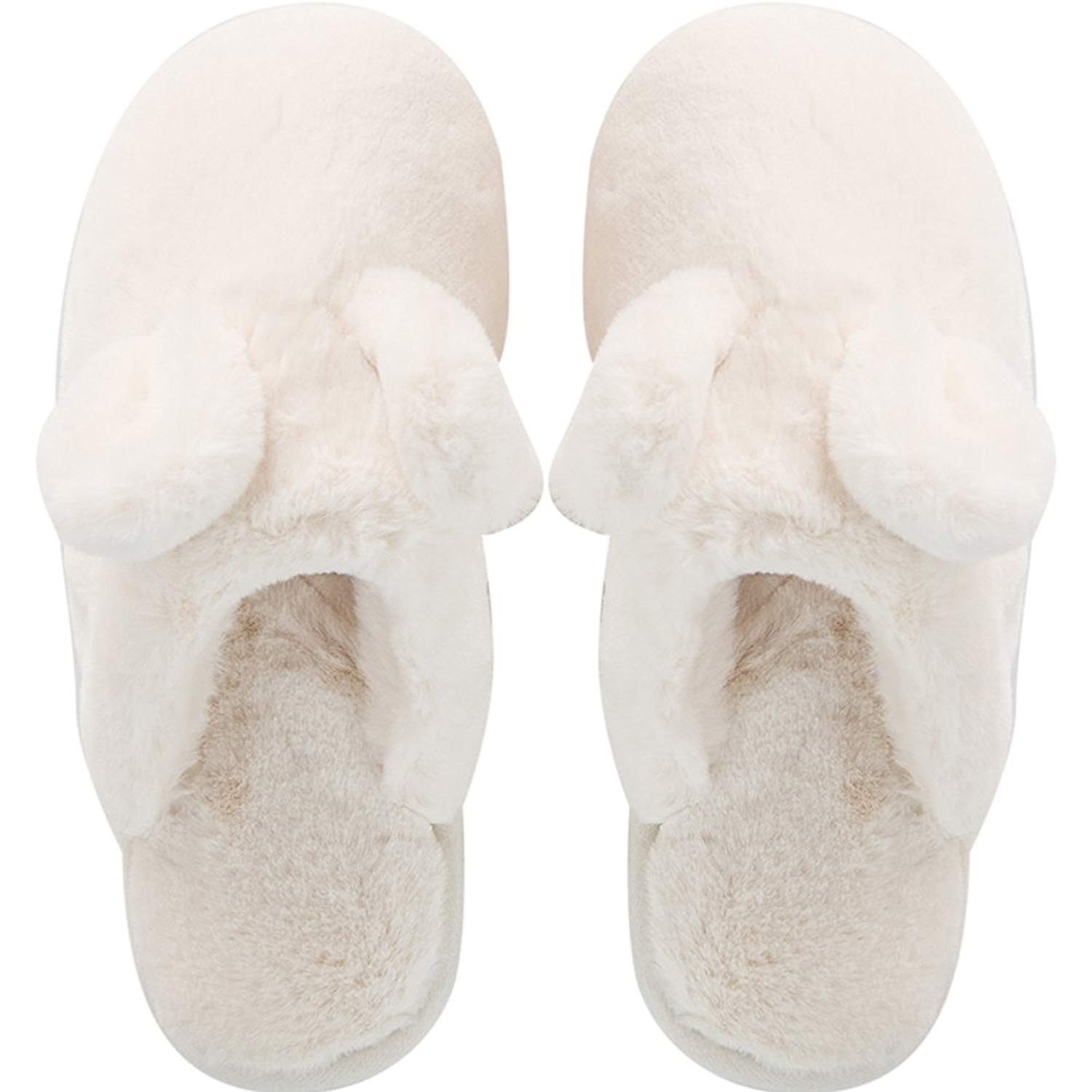 cad5078bc9fe Get Quotations · Hotmiss Rabbit Ear Slippers