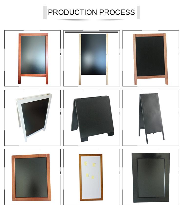 Decoratieve memo board staal magnetische memo board
