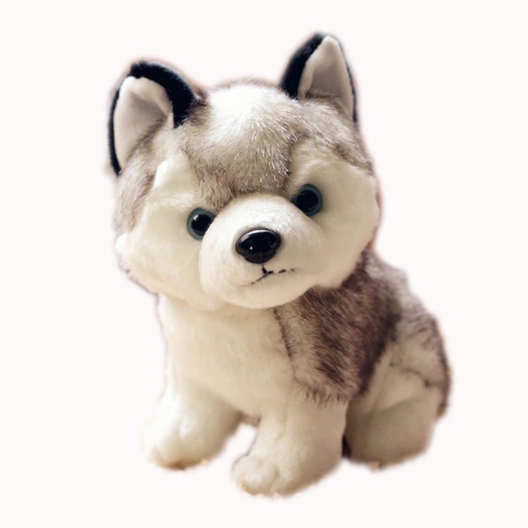Good quality custom husky plush toy simulated <strong>animals</strong>