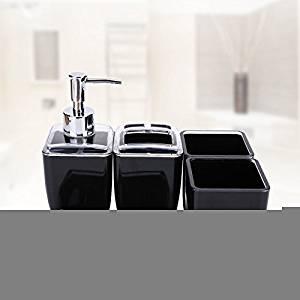 SBWYLT-Set five-piece wedding ideas bathroom bathroom set-bathroom sanitary ware acrylic continental housewarming gift 03