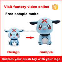 Factory Cheap Custom Made Design Stuffed Soft Plush Toys