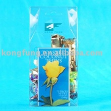 clear plastic cosmetic folding pet packaging box