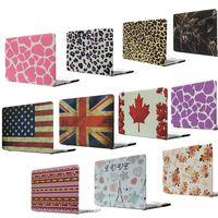 Flag Cute Print Hard Case For Apple Macbook Air Pro Retina 11 12 13 Retina 15 Laptop Bag For book 13.3 inch taobao 1688 agent