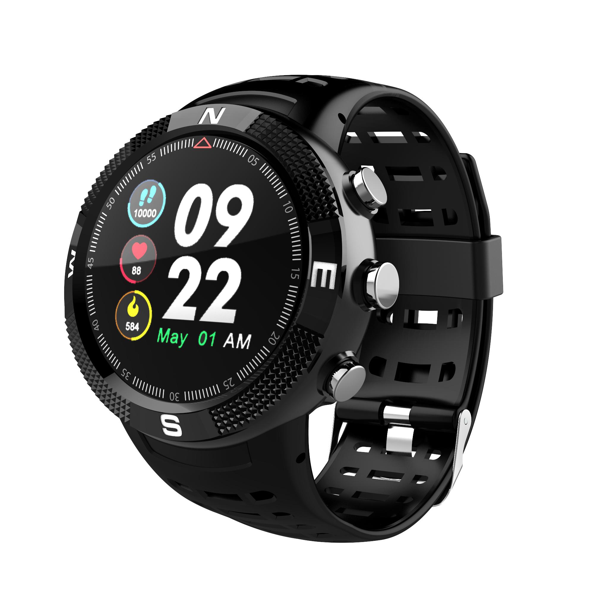 Sports fitness tracker wrist watch waterproof smart watch GPS smartwatch elder smartwatch health monitor wrist band фото