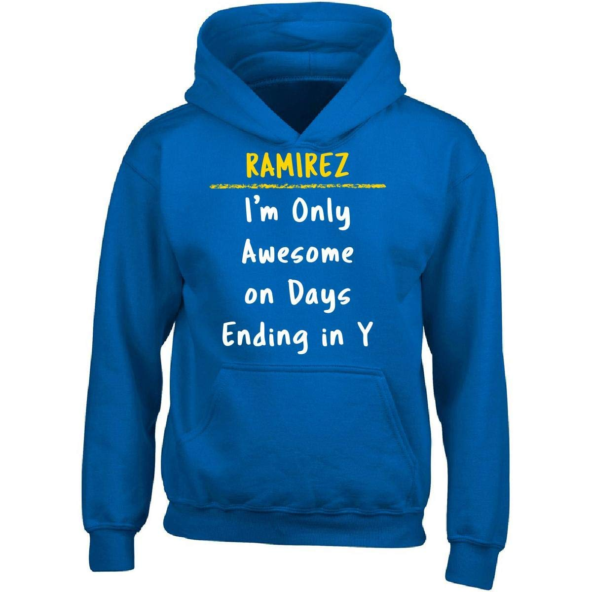 Sierra Goods Ramirez Awesome Sarcastic Funny Saying Name Office Gift - Adult Hoodie