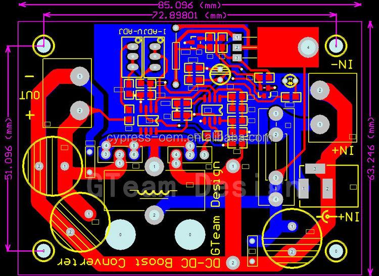 Dc Dc Step Up Converter High Power 600w Module 12v 60v To