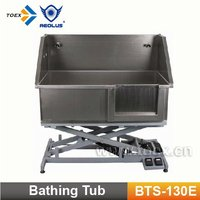 Stainless Steel Dog Bathtub BTS-130E