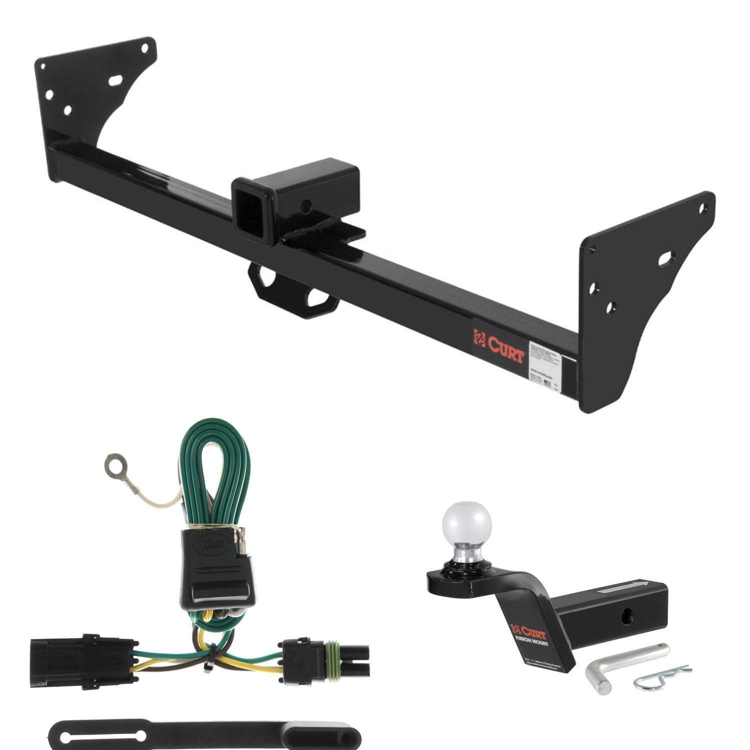Gmc Trailer Wiring Cheap Find Deals On Line At Get Quotations Curt Hitch 2 Ball Mount W Rise For