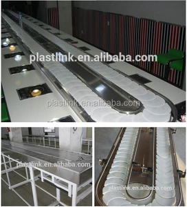 Plast Link Food grade material conveyor belt sushi