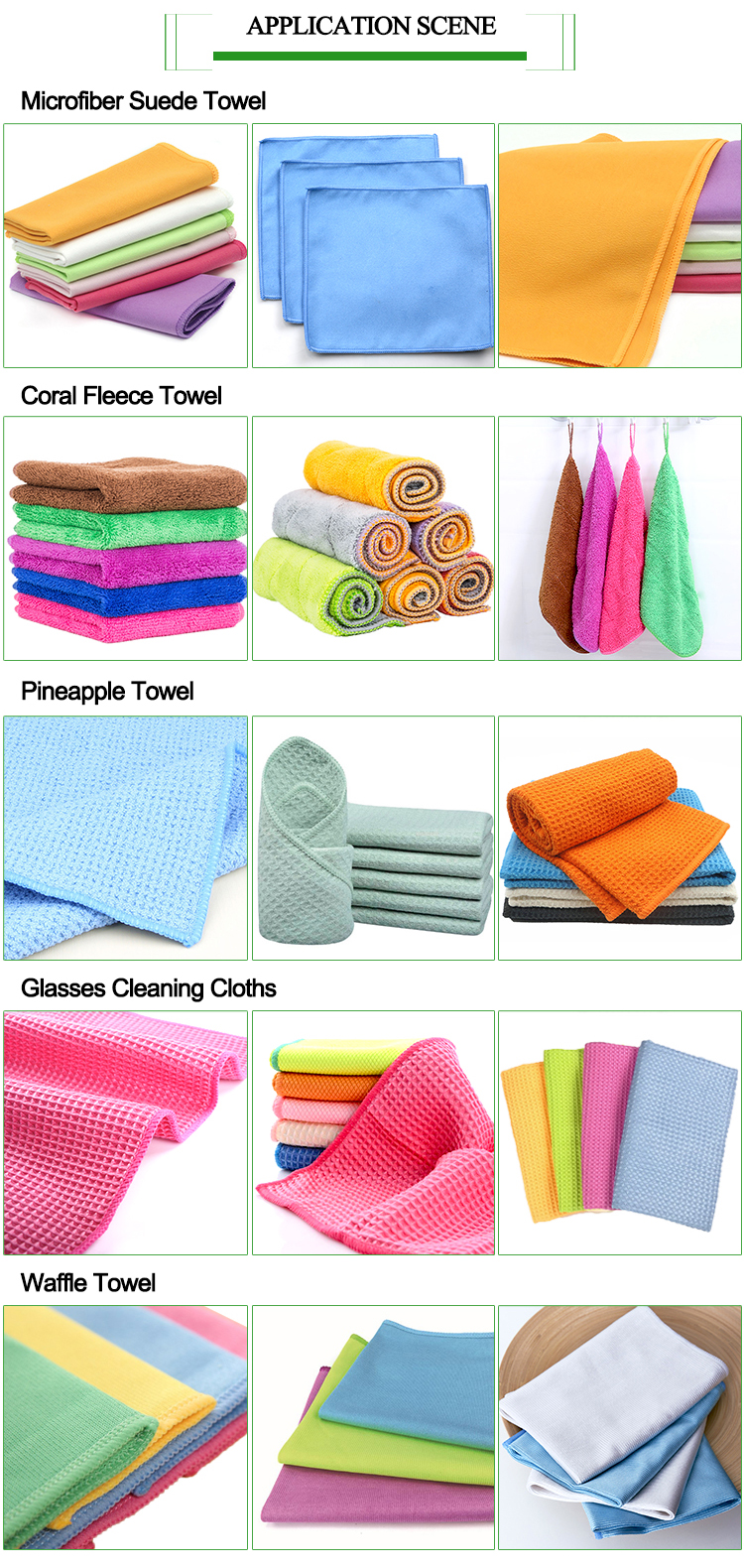 Microfiber Kitchen towel in bulk  Gym microfiber cleaning suede towel