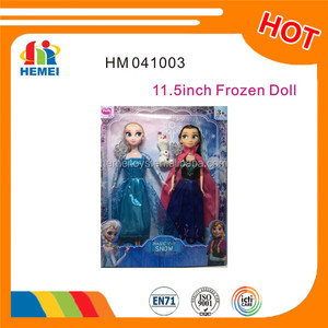 11.5 inch snow queen frozen doll elsa and anna