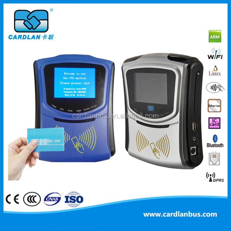 CL1306 Bus POS with GPRS for Public Transport payment System