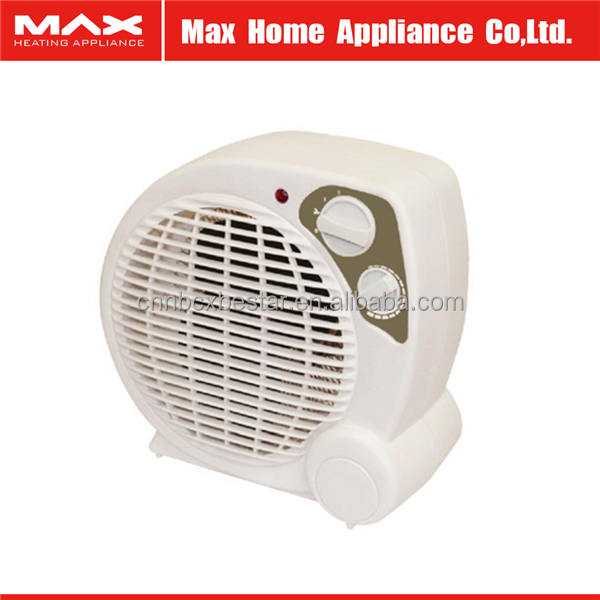Space heating fan heater with 2000W