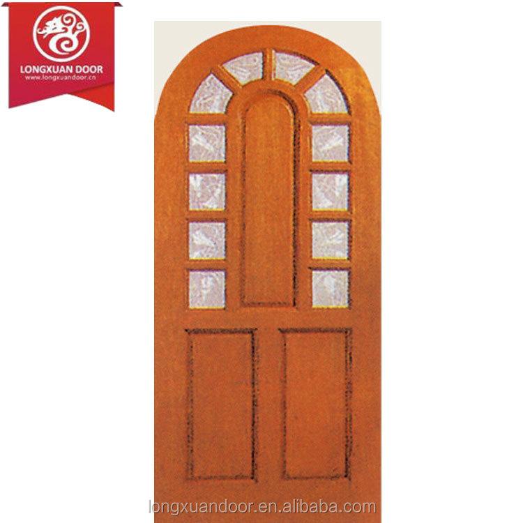 Arco g tico arqueada puertas con ventanas de vidrio puerta for Arcos de madera para puertas