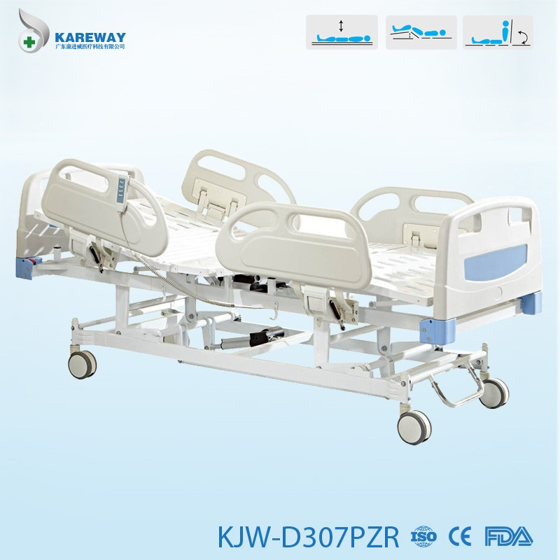 Hot sale hospital price medical bed with toilet