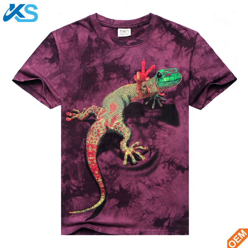 New product Casual Men's Summer 3D Printed Short Sleeve Funny Graphic T Shirt