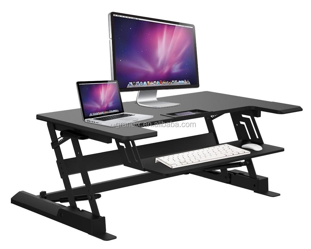 Standing Work Height Adjustable Pc Desk Riser Sit Stand Desk,Recliner  Computer Desk/computer