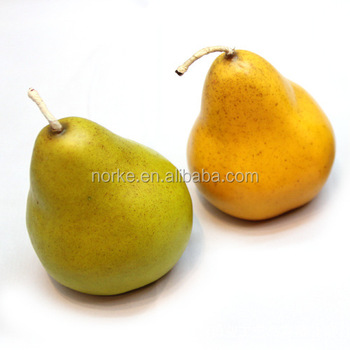 Artificial Pears Fruit Decorative Fruits And Vegetables Fake Fruits
