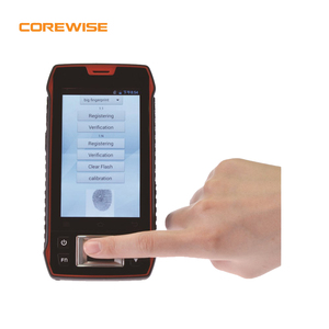 Handheld Android wireless biometric fingerprint reader with nfc,rfid,barcode scanner,wifi,4G,gps
