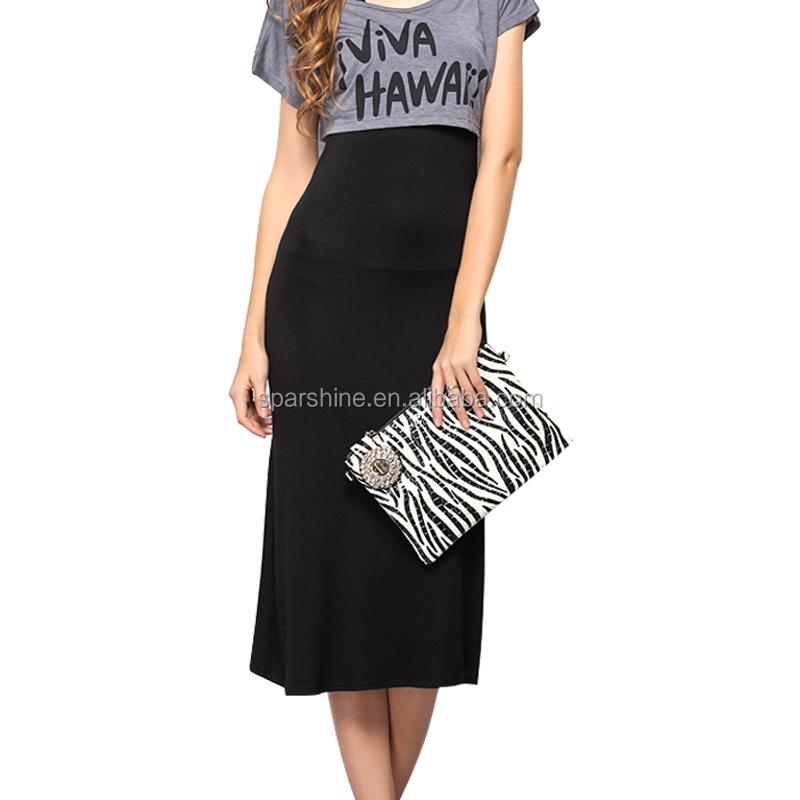 nueva manera de las mujeres seoras de la oficina vestido de la ropa de la rodilla