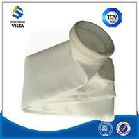 PE polyester non woven needle felt dust collector filter bag