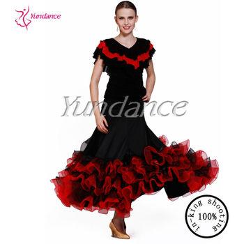 ff5cee20ab6d Ab033 Flamenco Dance Costumes Women - Buy Flamenco Dance Costumes ...