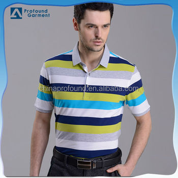 High end fashion wholesale clothing colorful golf polo for High end golf shirts